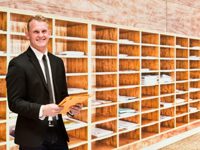 Helping with your Mail Room process